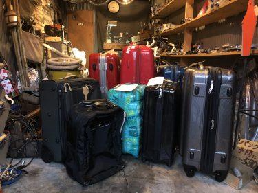 スーツケースのメンテナンス方法(アリキチ自転車店リペア工房オリジナル)